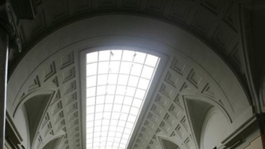 Una de las galerías centrales del Museo del Prado