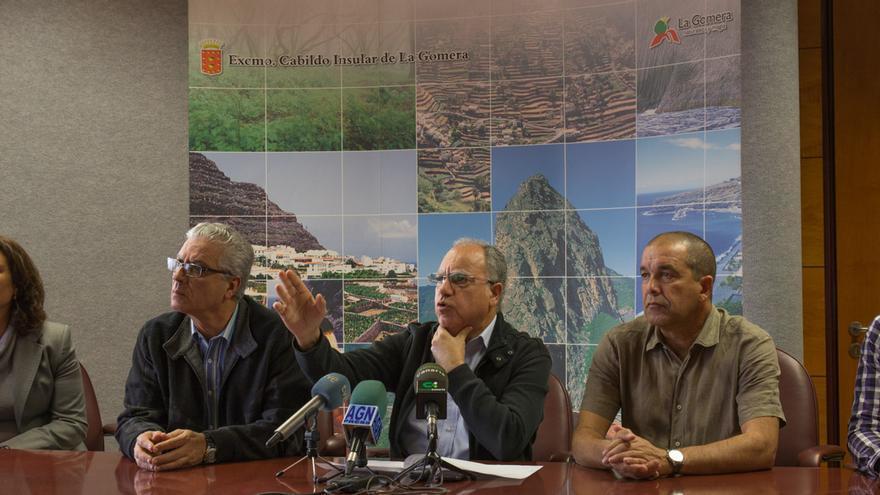 Rueda de prensa en el Cabildo