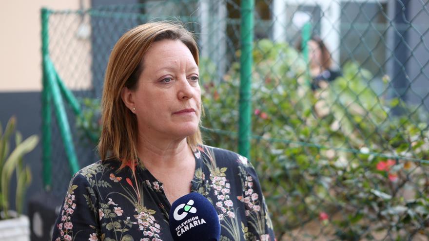 La secretaria de Organización de Podemos, Conchi Moreno