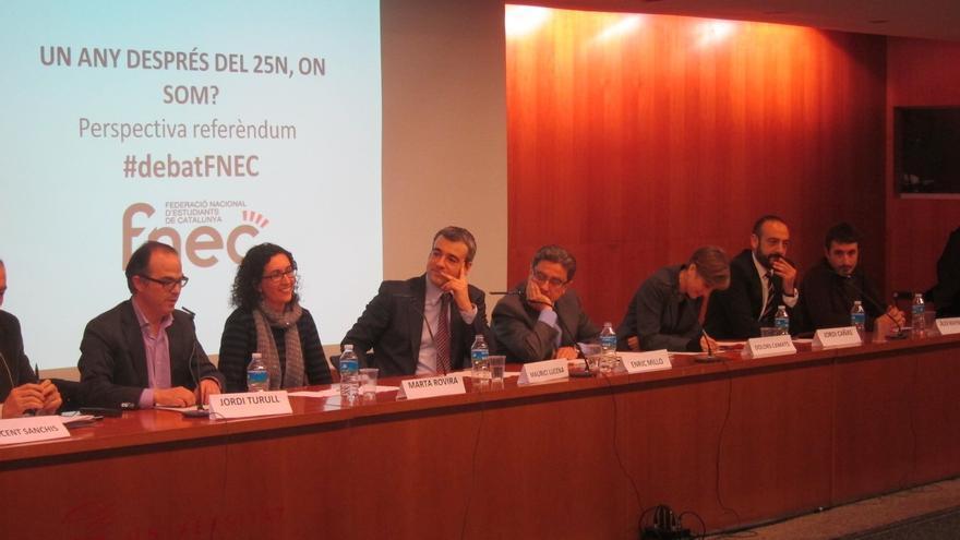 CiU, ERC e ICV-EUiA dicen que habrá acuerdo con la consulta aunque no se vote en el próximo pleno