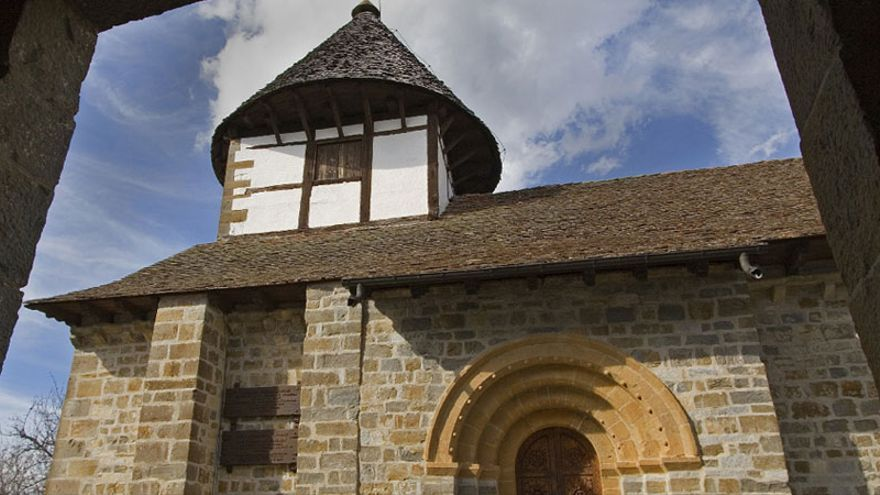 Ermita de nuestra señora de Muskilda, en Ochagavía.