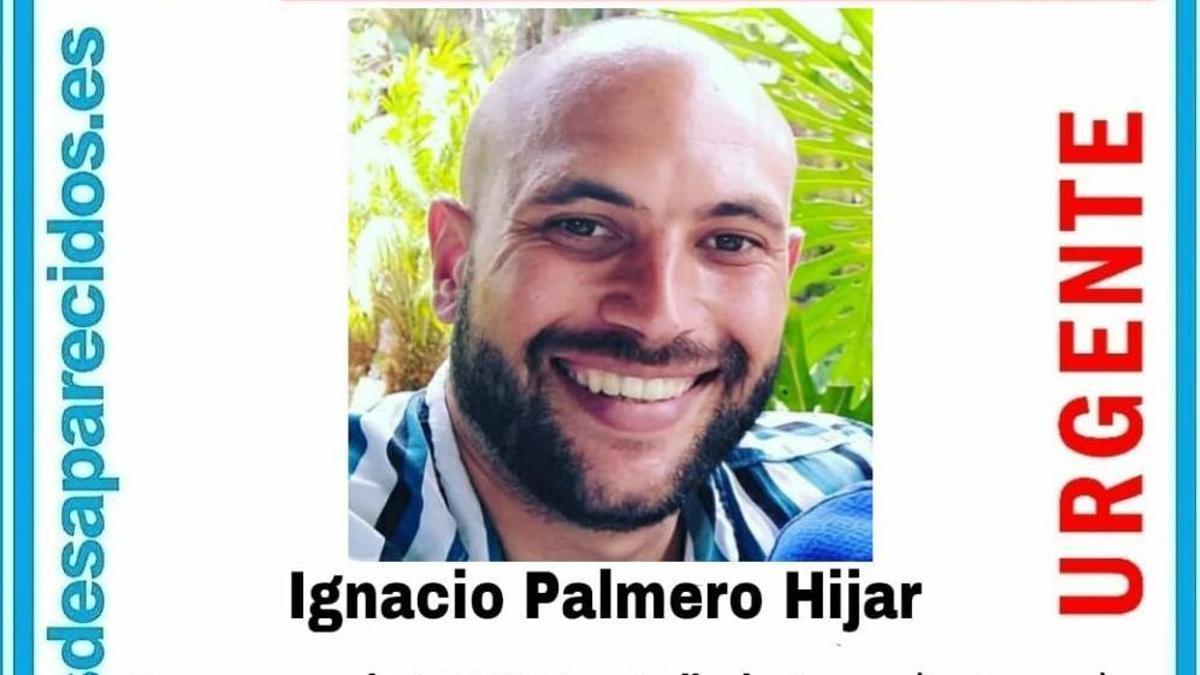 Ignacio Palmero Hijar, desaparecido en La Laguna