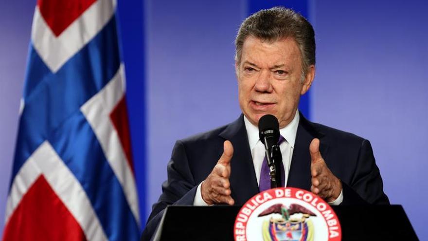 Santos: la consolidación de la paz debe ser prioridad para el nuevo presidente