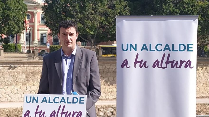 Ginés Ruiz, candidato a la alcaldía de Murcia por Podemos