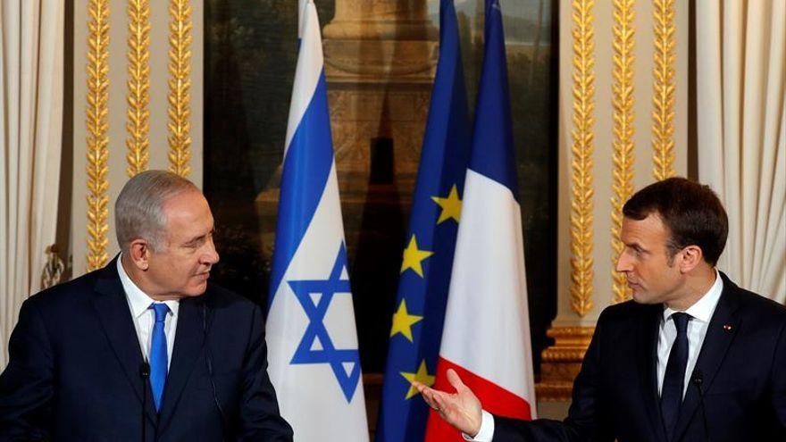 Netanyahu habla con Macron sobre el acuerdo nuclear con Irán