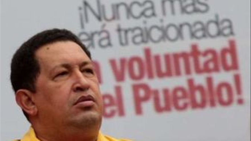 Hugo Chávez. (EUROPA PRESS)