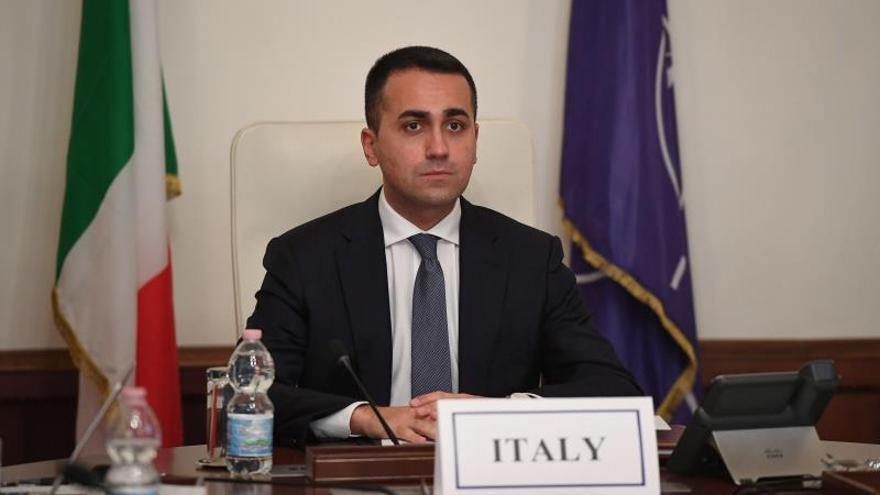 El ministro de Asuntos Exteriores italiano, Luigi Di Maio.