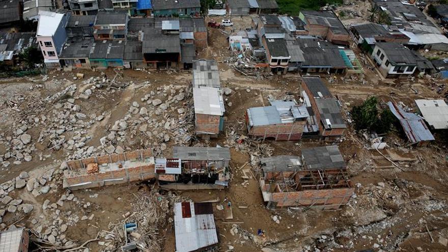 España dedicará 80.000 euros de ayuda humanitaria a las víctimas de Mocoa