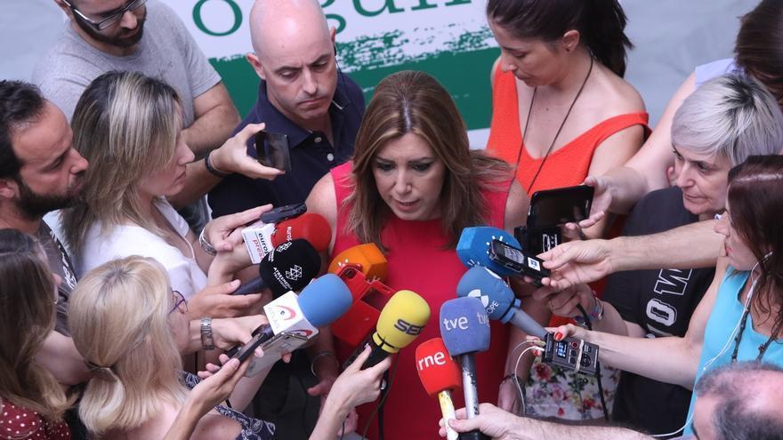 La Comisión Regional de Ética certifica que Susana Díaz logra los avales y repetirá como secretaria general del PSOE-A