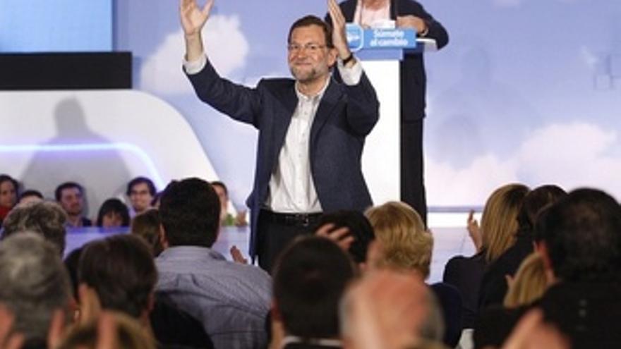Rajoy En Un Acto De Campaña En Toledo