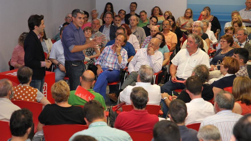 Pablo Zuloaga, candidato a la Secretaría General del PSOE de Cantabria.
