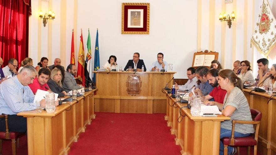 Pleno del Ayuntamiento de Mérida