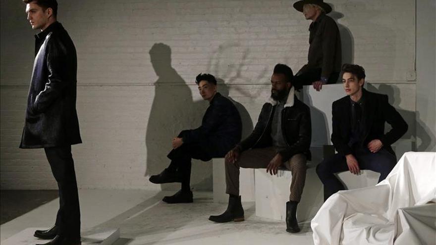 El vintage de Lucio Castro y la elegancia GarcíaVélez abren la Moda hombres de Nueva York