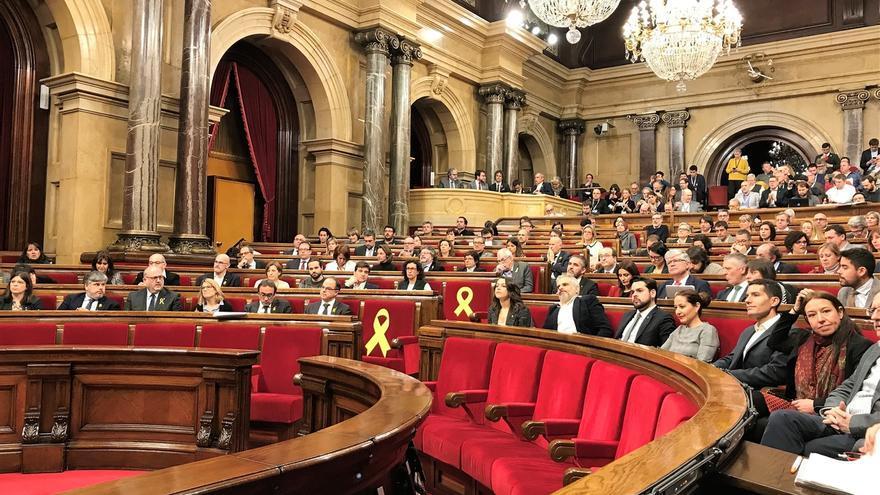 El Boletín del Parlament publica oficialmente la celebración del pleno a las 17 horas