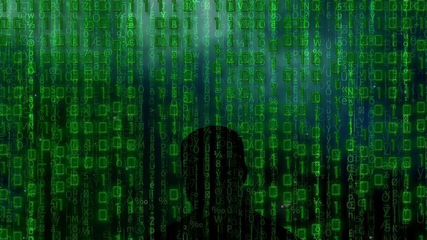 Los unos y ceros del lenguaje binario también están en las representaciones del 'hacking' (Imagen: Pixabay)
