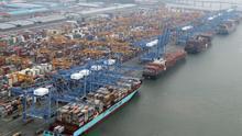 El superávit comercial surcoreano cayó un 6,09 % en junio