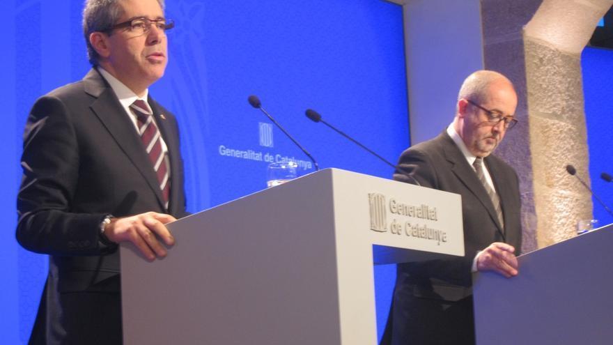 Homs recalca el compromiso del Gobierno catalán con el 27S y que no dará marcha atrás en ningún caso
