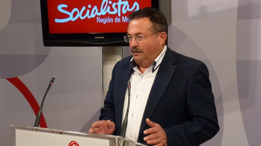 El diputado del PSRM-PSOE en la Asamblea Regional, Manuel Soler