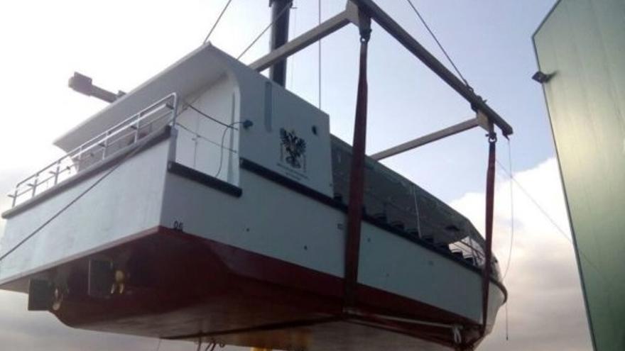 Barco comprado por la Diputación de Toledo