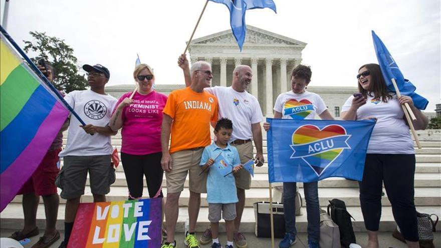 El Tribunal Supremo de EE.UU. legaliza el matrimonio homosexual en todo el país