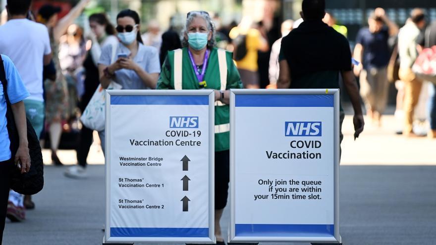 Reino Unido notifica más de 26.000 contagios, récord desde finales de enero