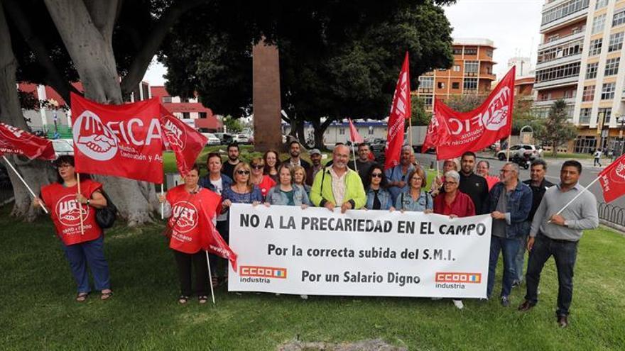 Trabajadores del campo exigen la subida del salario mínimo interprofesional