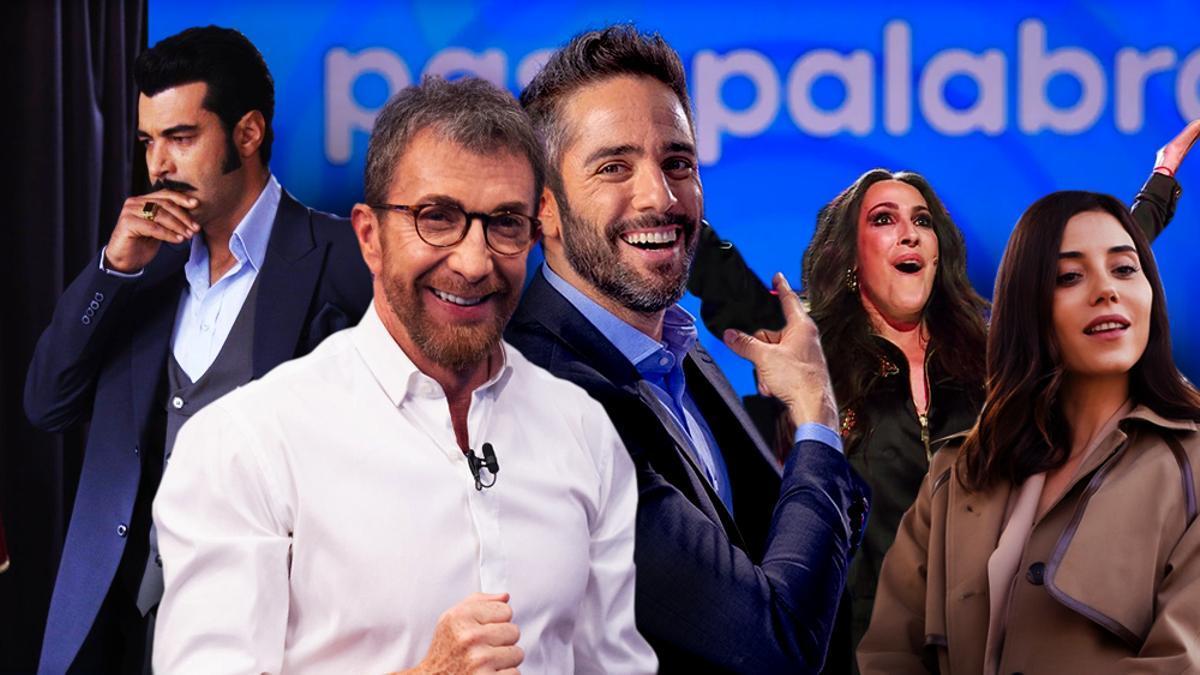 Los protagonistas del triunfo de Antena 3 en septiembre