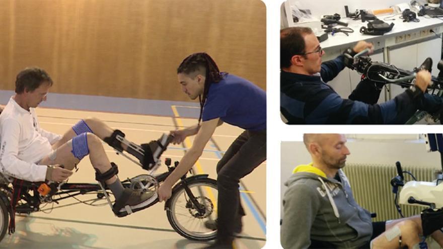 Cuatro de los integrantes y pilotos del equipo de la Escuela Normal Superior de Lyon sufren tetraplejia parcial