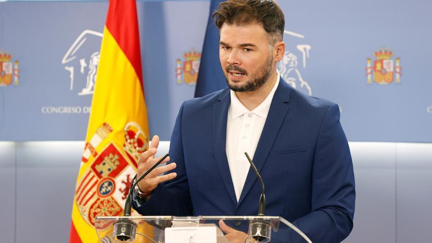 Independentistas catalanes ven muy insuficiente el proyecto de ley de memoria