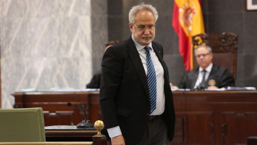 El juez Emilio Moya. (Alejandro Ramos).