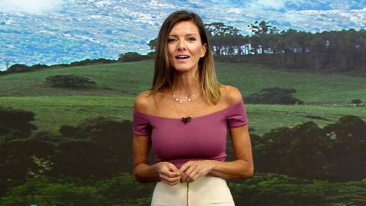 Himar González, presentadora de 'El tiempo' de Antena 3