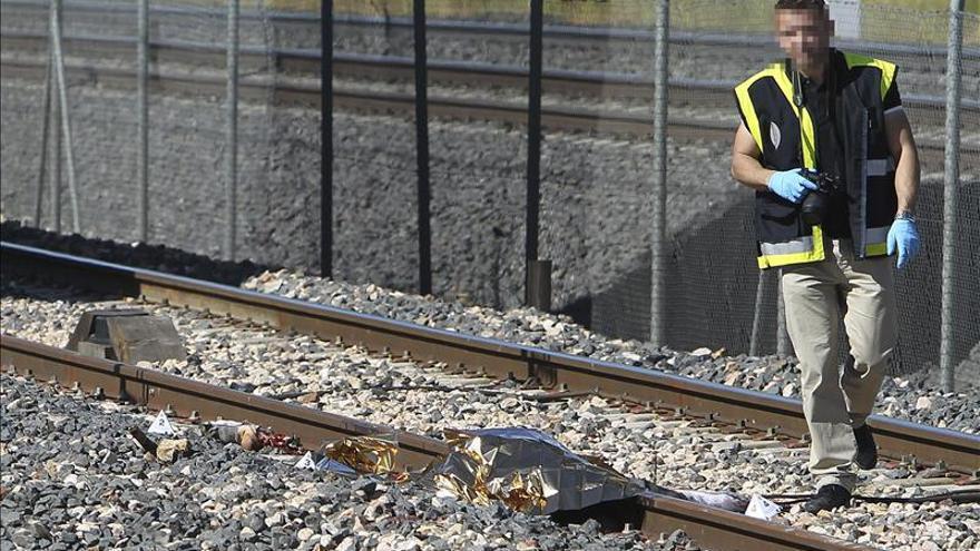 Muere un hombre al ser arrollado por un tren de mercancías cerca de Ciudad Real