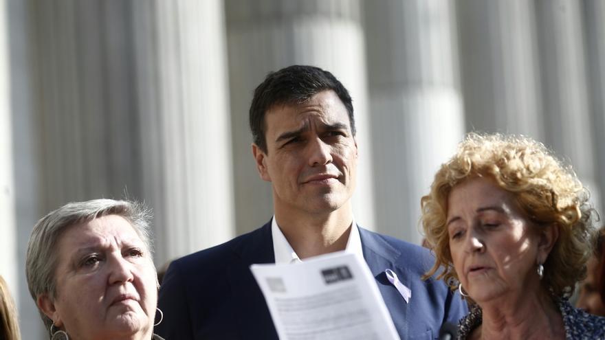 """Sánchez niega que proponga revisar el 135 por el auge de Podemos: """"Para ocupar el espacio del PSOE hay que ser el PSOE"""""""