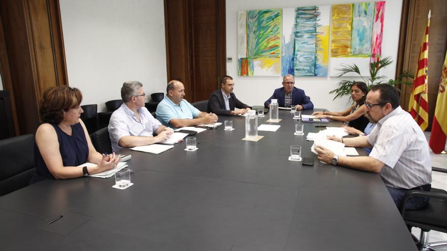 Reunión de la Junta Distribuidora de Herencias de Aragón