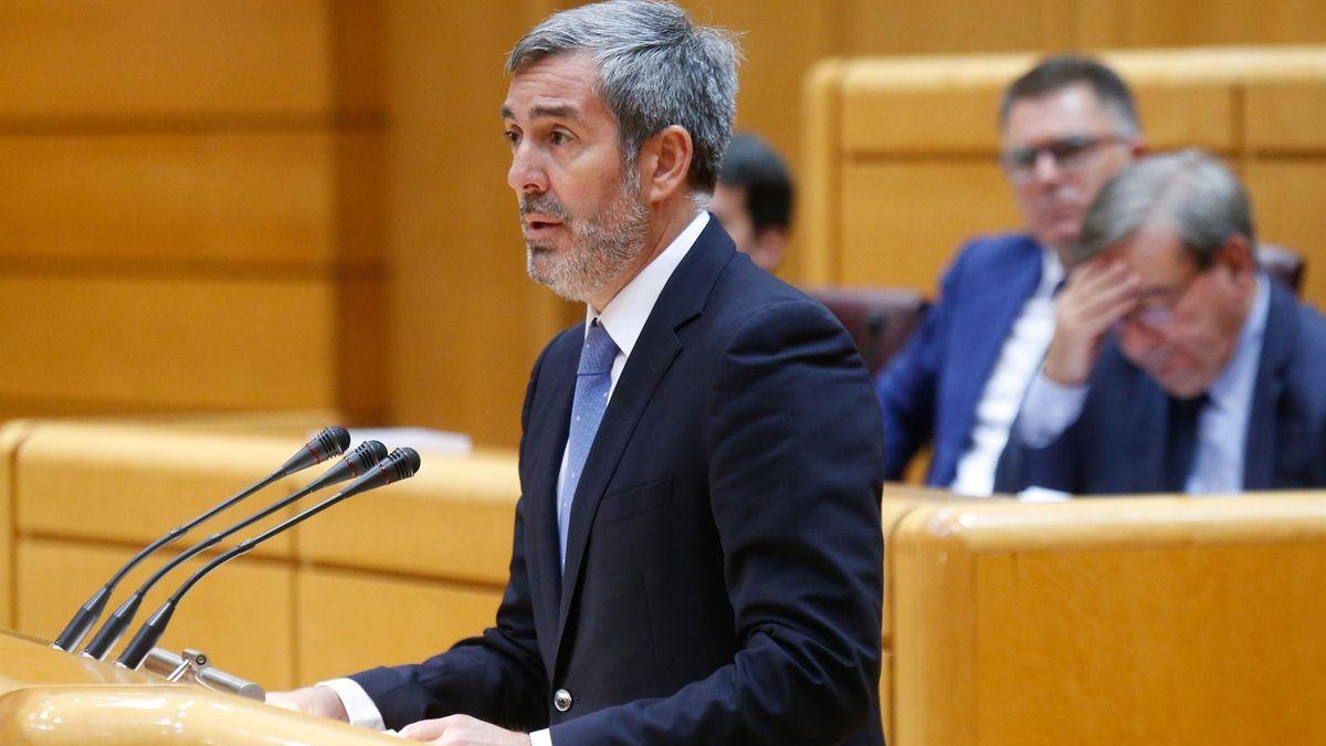 El senador de Coalición Canaria Fernando Clavijo