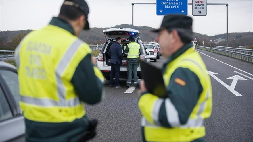 La Guardia Civil en una operación de tráfico.