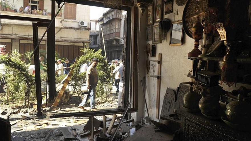 Varias víctimas en un doble atentado al norte de Damasco