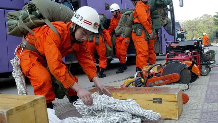 China y la UE ensayan conjuntamente técnicas de preparación para desastres