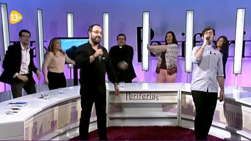 'Hoy ya soy feliz' en Periferias de 13 TV.