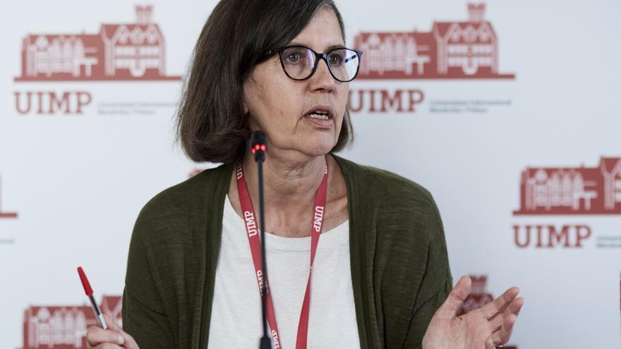 La rectora de la UIMP, María Luz Morán Calvo-Sotelo.
