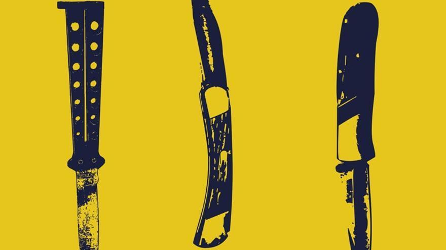 Ilustración de portada de Anatemas, de Piedra Papel Libros