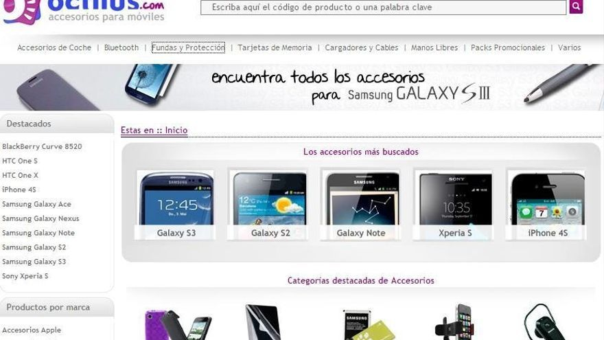 La tienda de accesorios para móvil Octilus inaugura su primer establecimiento en Sevilla