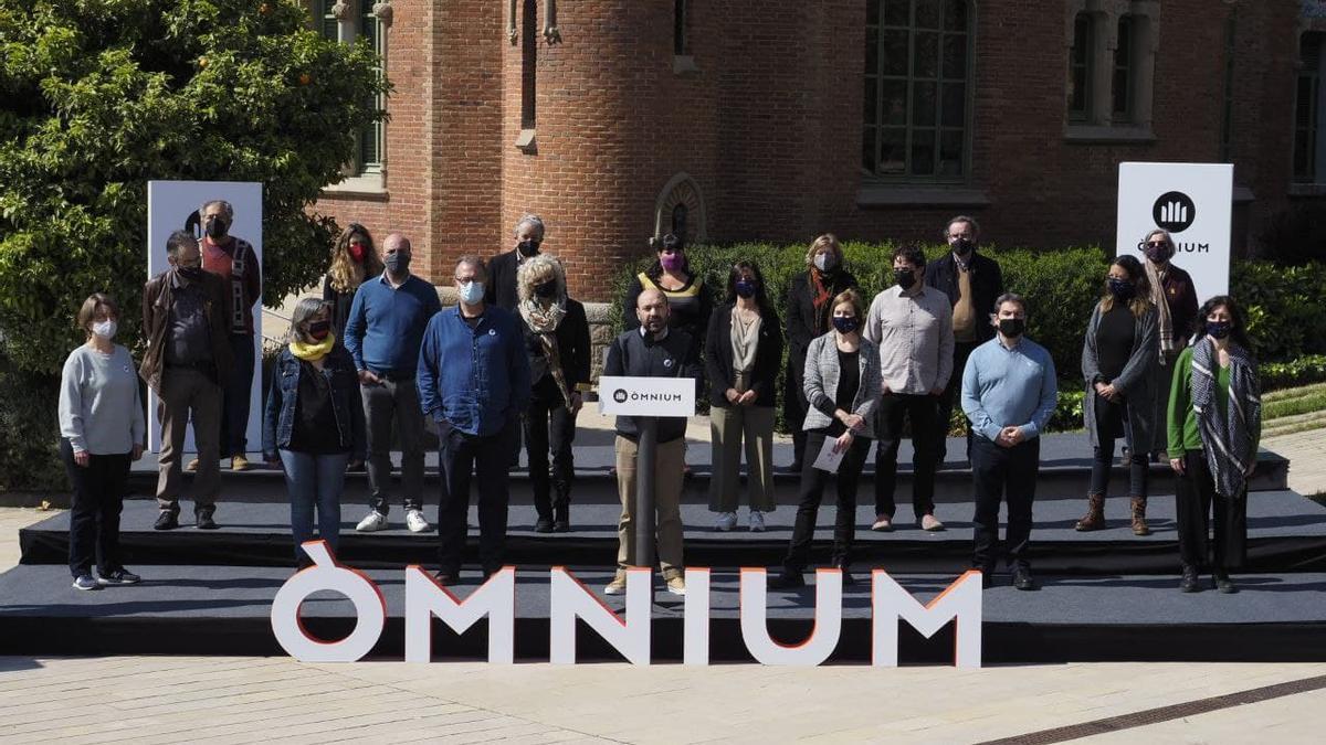 La junta de Òmnium se ha reunido este sábado en el Hospital de Sant Pau de Barcelona