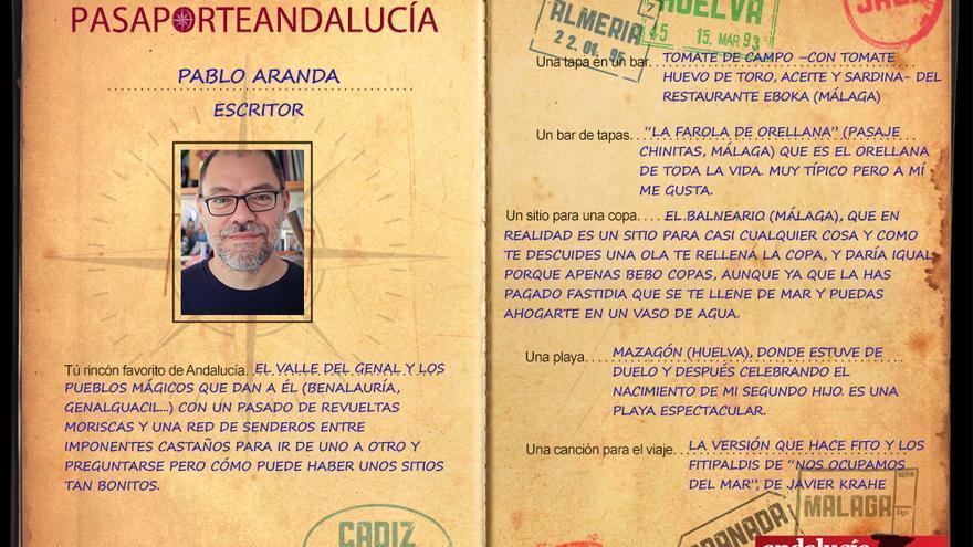 PASAPORTEST, con Pablo Aranda
