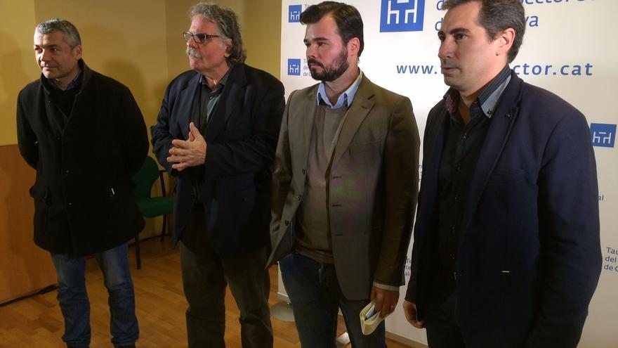 """Rufián (ERC) cree que la decisión del TC refleja un Estado """"contra un mandato popular"""""""