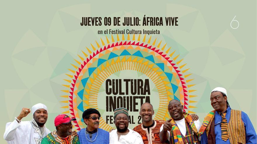 'Africa vive' en el Festival de Cultura Inquieta