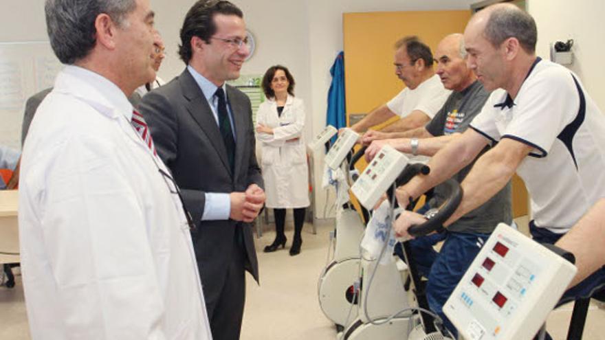 El conejero de Sanidad madrileño Javier Fernández-Lasquetty