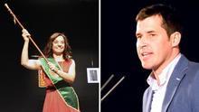 Los aspirantes a liderar el PSOE de Madrid, Sara Hernández y Juan Segovia