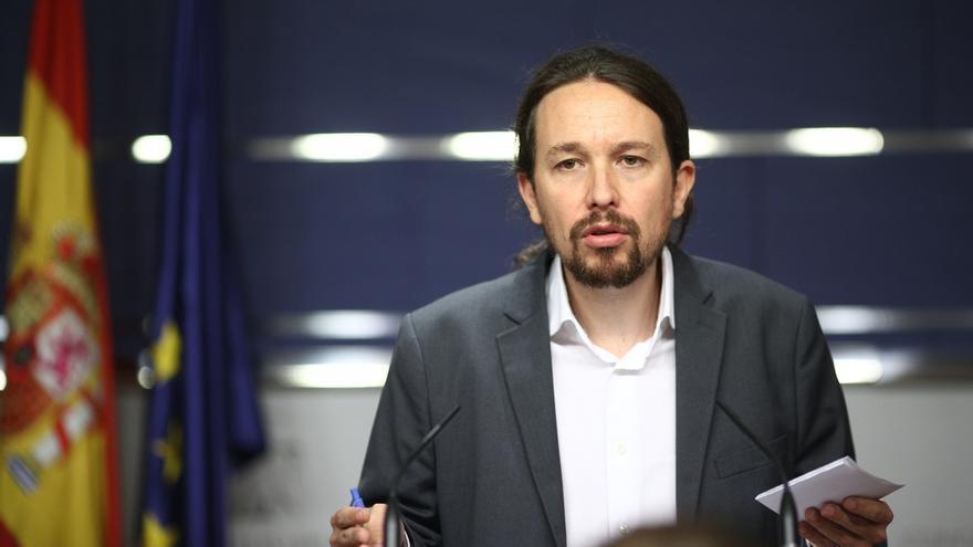"""Iglesias espera poder convencer a Sánchez para una nueva moción porque el trabajo conjunto """"va en la buena dirección"""""""