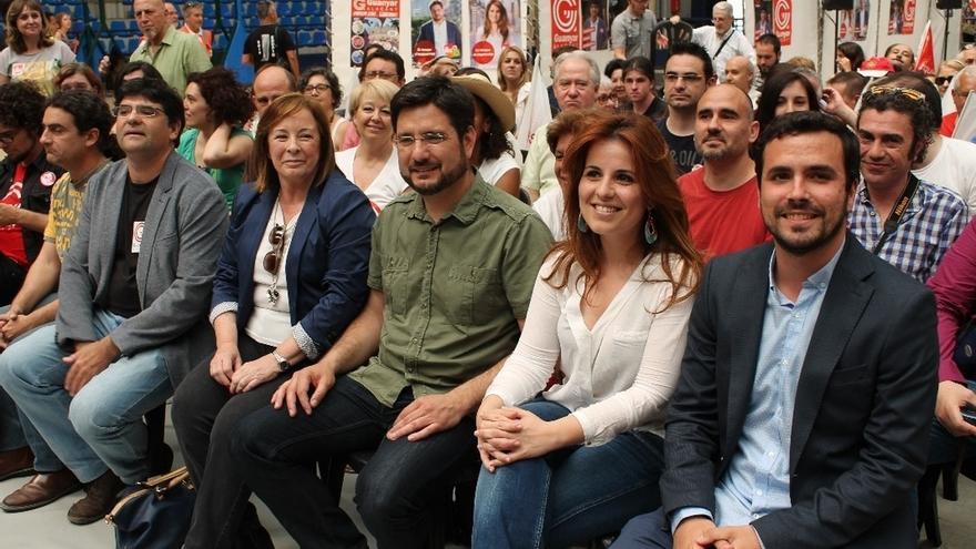 Garzón (IU) dice que la diferencia entre la derecha británica y la española es la corrupción